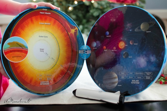 SmartGlobe teaches kids about their world, our solar system, and the Earth's core