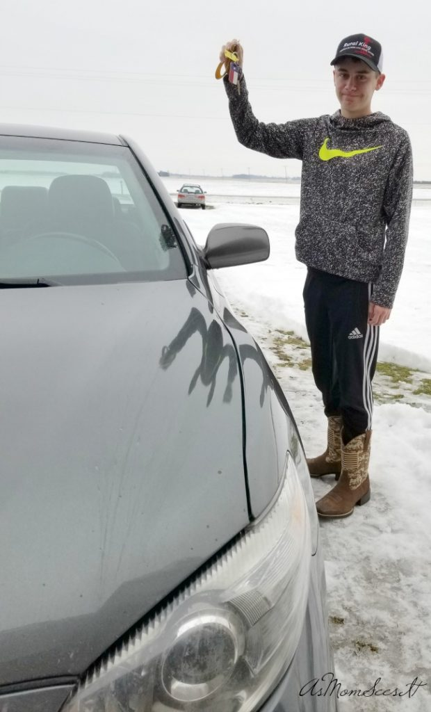Tips for teen driving during the winter