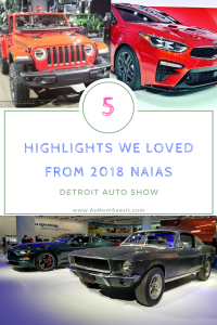 5 Things That Rocked Year's Detroit Auto Show