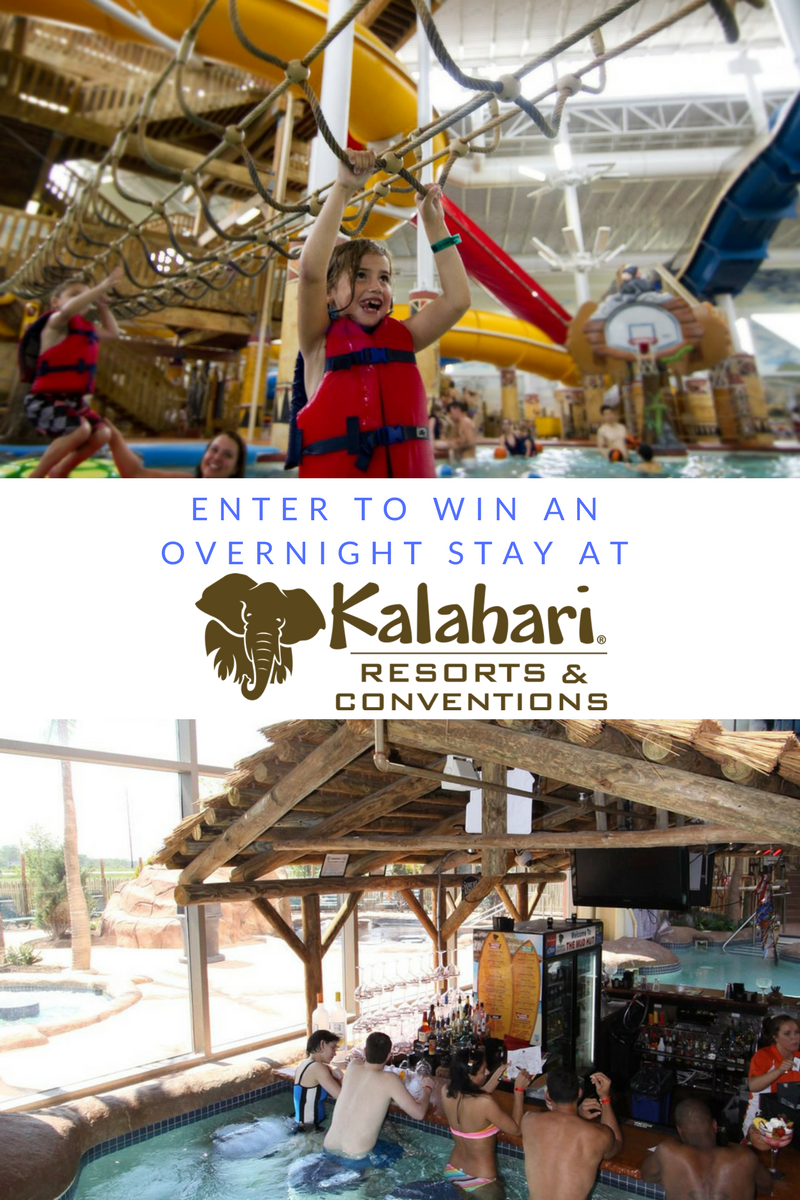 Grab The Kids And Escape To Kalahari, Plus Win A Free Night! #LoveKalahari