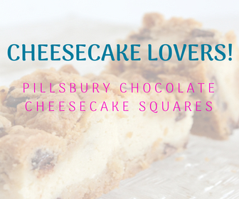 Pillsbury Chocolate Cheesecake Squares