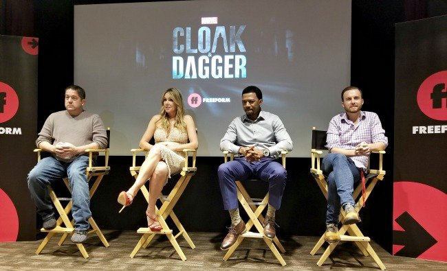 Joe Pokaski, Andrea Roth, Miles Mussenden, and Tom Lieber for Marvel's Cloak & Dagger.