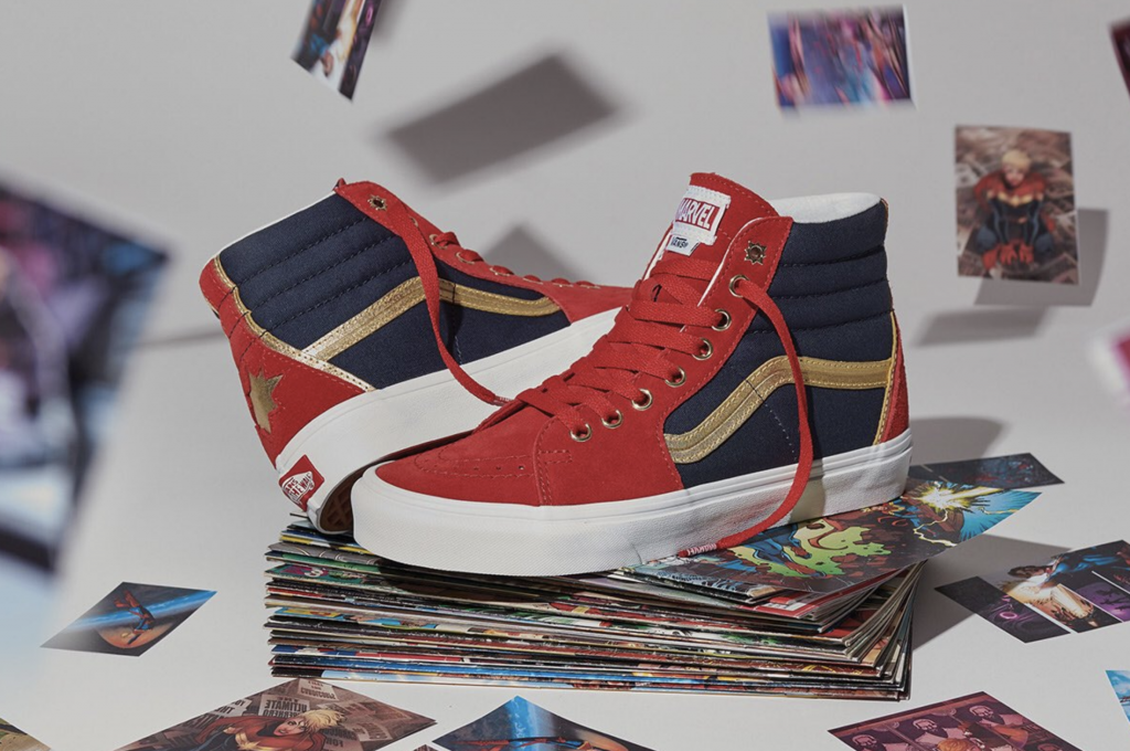 These new Vans x Marvel Captain Marvel shoes are everything I want right now