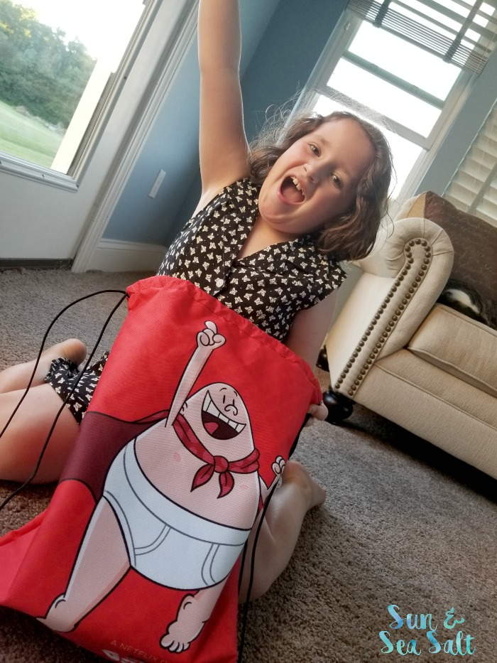 We are celebrating the new Captain Underpants show on Netflix