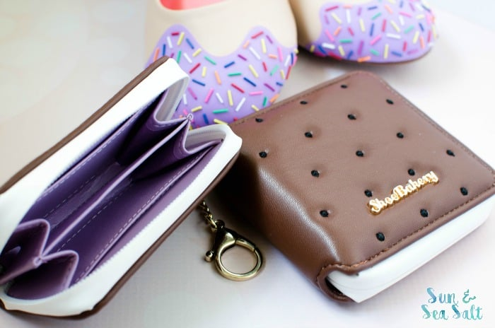 Ice Cream Sandwich Card Holder and Wallet from Shoe Bakery