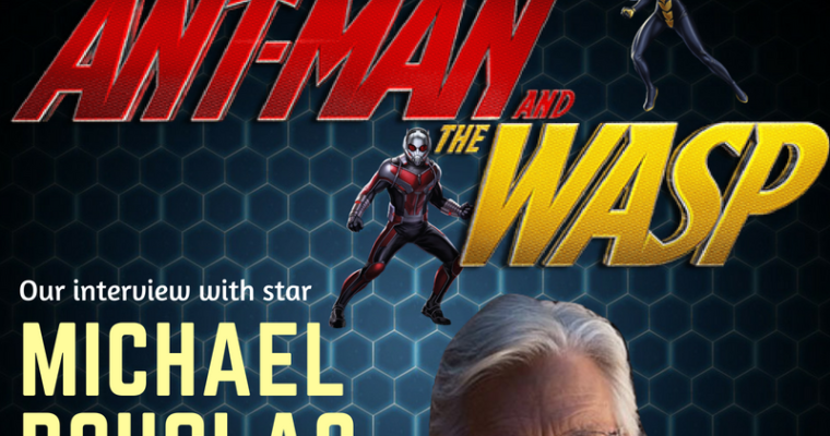 'Ant-Man and the Wasp' Star Michael Douglas: Why He's Jealous of Paul Rudd