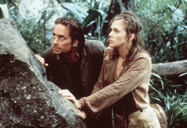 Michael Douglas in 1984's Romancing The Stone