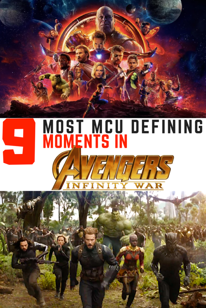 9 most defining moments in Avengers: Infinity War