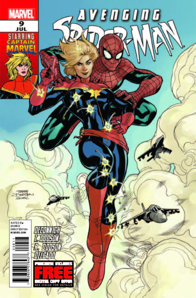 The first comic book appearance of Carol Danvers as Captain Marvel