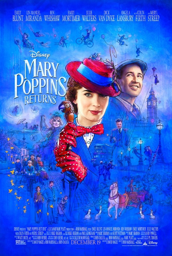 Mary Poppins Returns new trailer is released by Disney Studios