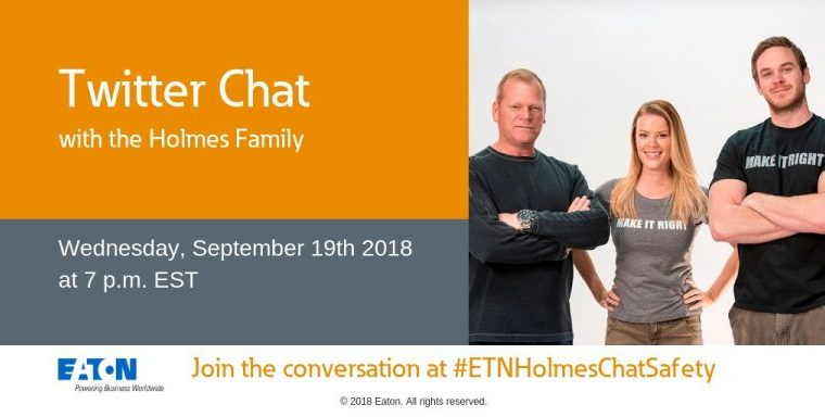 Join The #ETNHolmesChatSafety Twitter Chat With HGTV's Holmes + Holmes
