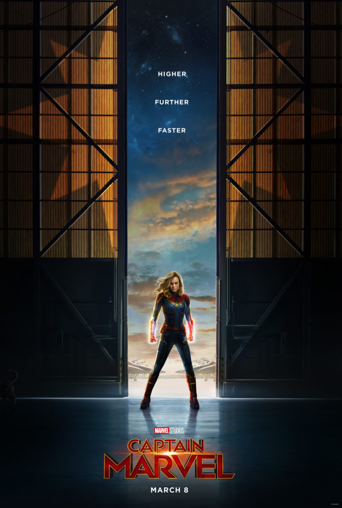 Captain Marvel official film poster