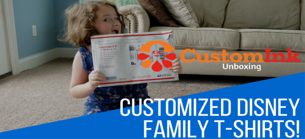 3 Reasons We Adore Our Personalized Shirts For Disney From Custom Ink