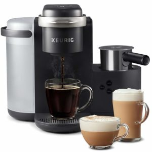 Keurig K-Cafe Single Serve K-Cup Pod Coffee, Latte and Cappuccino, K-Café