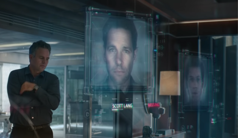 Bruce Banner reviews the missing Avengers in the trailer for Avengers: End Game