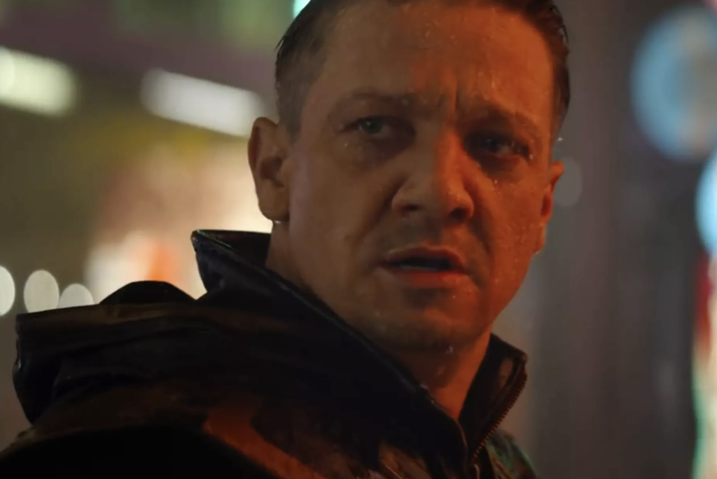 The appearance of Jeremy Renner as Ronin in Avengers: Endgame