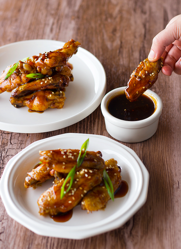 Sweet & Sour Baked Chicken Wings are the chicken wings we've all been waiting for.