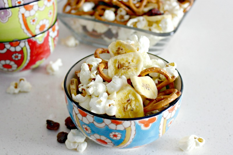This Healthy Homemade Snack Mix is perfect as a health conscious Super Bowl Snack Idea
